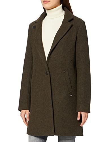 Scotch & Soda Maison Classic Tailored Coat Lana, Forest Melange 1628, XS Abrigo de Sastre clásico