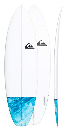 Quiksilver Euroglass Surfboard Mini Ripper 5'6 Blue Topaz