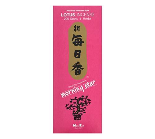 nippon kodo Morning Star Lotus Incienso, 200 barritas