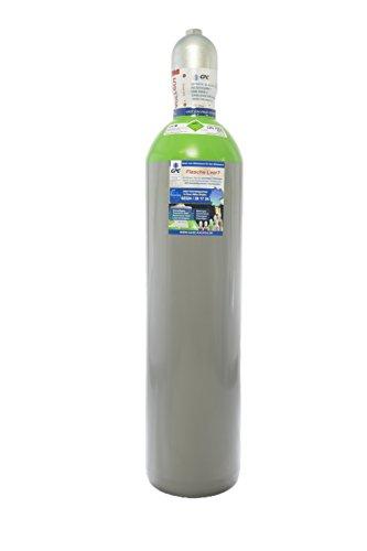 Druckluft 20 Liter Flasche,Pressluft 300 BAR/NEUE Gasflasche (Eigentumsflasche), gefüllt - 10 Jahre TÜV ab Herstelldatum, EU Zulassung - made in EU