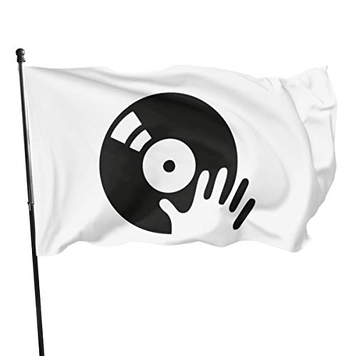 N/D DJ Scratch Plattenspieler Flagge Bannerflagge 15,9 m