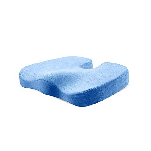 Stoelkussen schuim bank for het verlichten van ischias en het stuitbeen pijn kussen kantoor auto kussen, gebruikt als een bureaustoel auto of rolstoel, non-slip (Color : D)