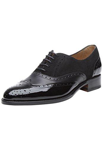 SHOEPASSION - No. 1106 - Schnürschuhe - Eleganter Business- oder Freizeitschuh für Damen. Rahmengenäht und handgefertigt aus feinstem Leder.