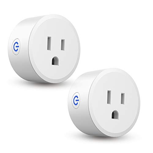CMARS Smart Plug, ZigBee Switch Mini Smart Outlet Works with Alexa, SmartThings Hub, Echo (4th gen) Echo Plug (2nd) Google Home, Works as a Range Extender, Hub Required (2 Pack)