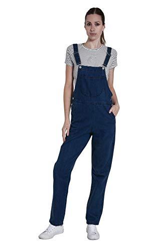 Wash Clothing Company Damen Latzhose - Darkwash Denim Preiswerte Latzhose Latzjeans Overalls Courtney-8