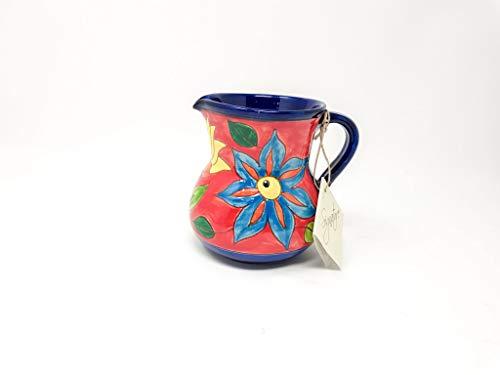 Verano Spanish Ceramics - Jarrón, diseño de flores, 12