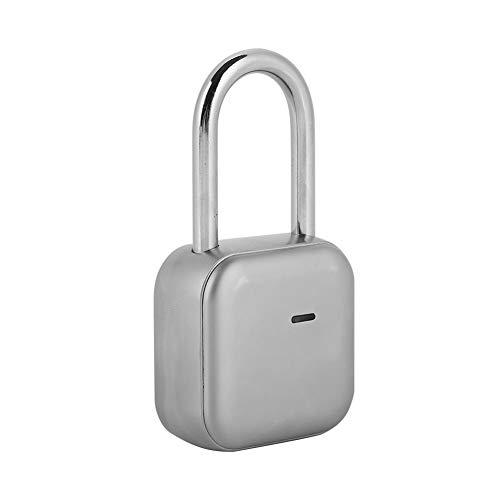 Lucchetto antifurto Smart Keyless impermeabile di sicurezza, lucchetto Bluetooth, serratura elettronica per casa, zaino, valigia, bicicletta, palestra, ufficio