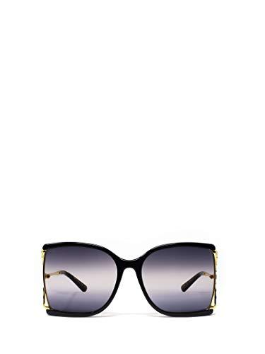 Gucci Moda De Lujo Mujer GG0592S002 Negro Acetato Gafas De Sol | Temporada Permanente