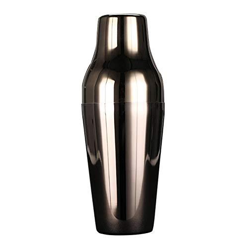 TOOGOO Coctelera Francesa de Acero Inoxidable de 650 Ml Coct