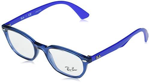 Ray-Ban 0ry1599 Gafas, TRANSPARENT BLUE, 46 Unisex