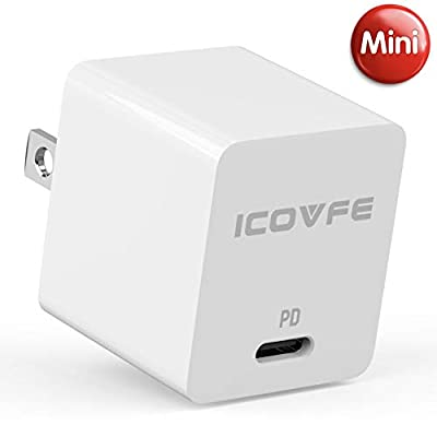 USB C Charger with 18W Power Delivery 3.0, iCov...