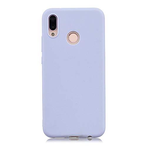 LIANLI Candy Macaron - Funda para Xiaomi Pocophone F1 Mi A1 A2 Lite 5X 8 SE 6X Redmi 4A 4X Note 4 5A 5 Plus 6 Pro 6A S2 Soft Cases (Color: Púrpura, Tamaño: Redmi Note 4X 64GB)