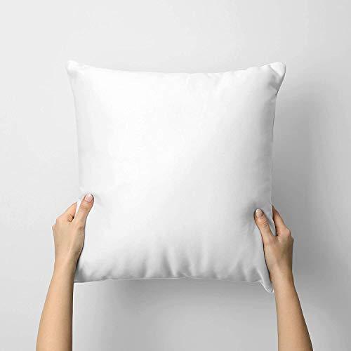 GB TEXTILE Paquete de 2 almohadillas de cojín extra profundas de 50,5 x 55,8 cm