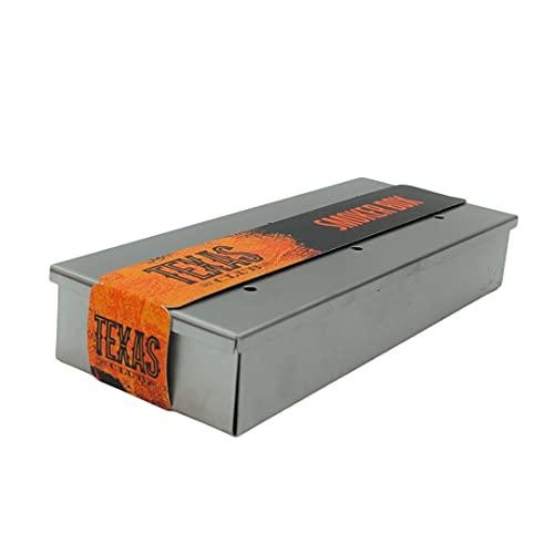 TEXAS CLUB Food BBQ Smoking Box - Grill...