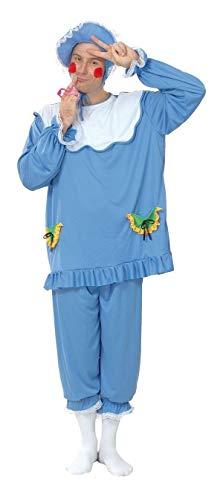 P'TIT CLOWN 86166 Déguisement Adulte Bébé - Taille Unique - Bleu