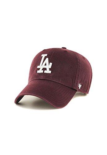 Casquette Clean Up LA Dodgers 47 Brand casquette strapback cap (taille unique - bordeaux)