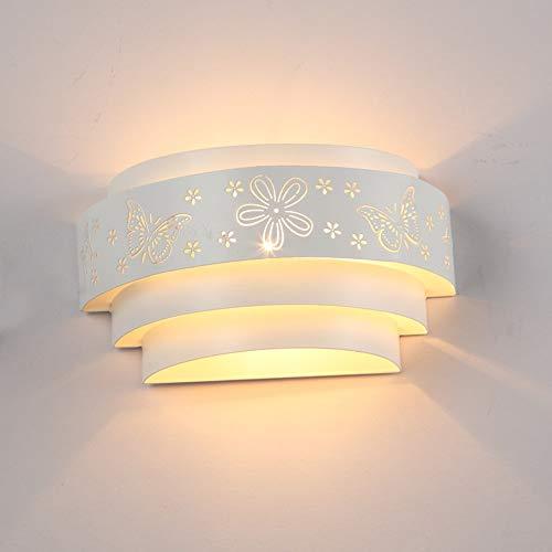 RAQ Muurlampen, hol gesneden bloem, led-wandlamp, voor binnen en slaapkamer, gang 1
