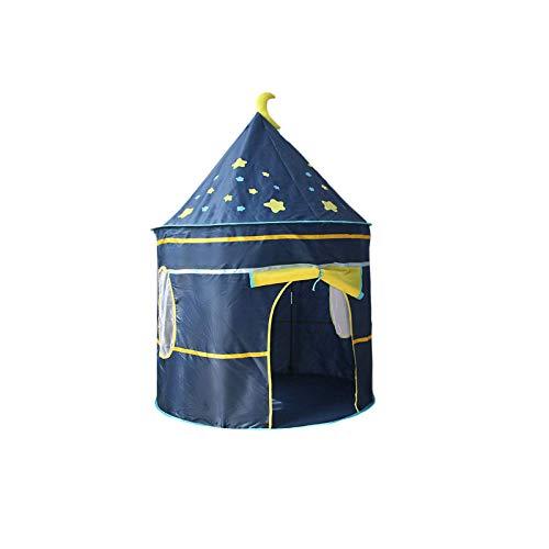 DIYARTS Portable Children's Play Tent Removable Outdoor Garden Kids Folding Beach Tent Simulation House Wigwam Princess Tent for Kids Children