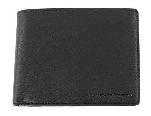 PORSCHE DESIGNE PORTMONEE CL2 2.0 Billfold H8 Leder Geldbörse Geldbeutel - Black