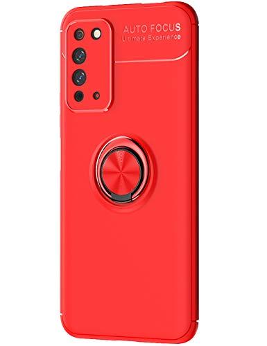 Cathanks - Funda para Huawei Honor X10, soporte de metal, ultrafina, soporte magnético de 360 grados, funda para teléfono móvil antiarañazos, resistente a golpes
