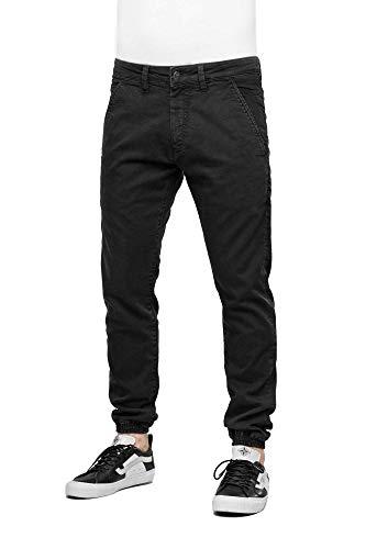 Reell Jogger Pant, Premium Black Denim 34/32 Artikel-Nr.1100-1037