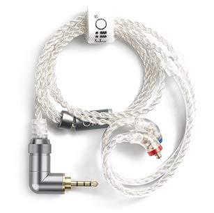 FiiO LC-2.5BS 45cm langes 2,5mm 4pin symmetrisches Kabel auf MMCX Stecker
