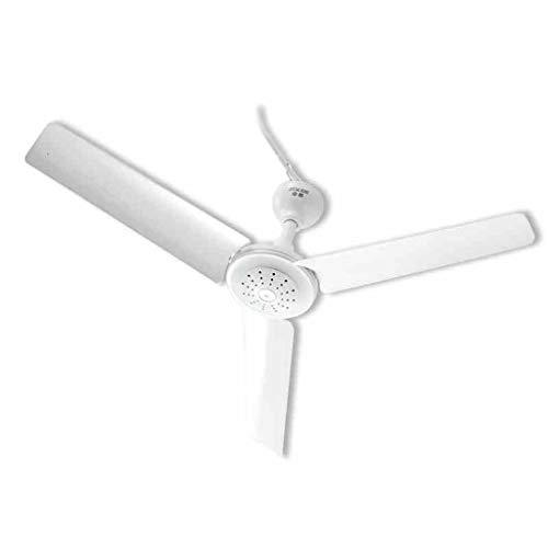 Moderner Deckenventilator Durchmesser 60cm Weiß DREI Blätter Mini Mute Verletzen Sie Nicht die Hand Student Wohnheim Büro Home Deckenventilator