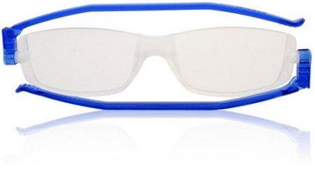 Gafas de Lectura Nannini compacto 2 plegable gafas de lectura azul + 2.00
