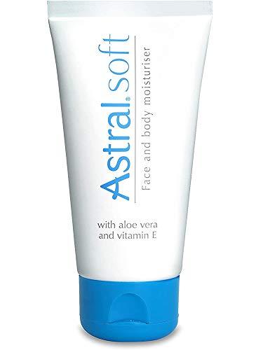 Astral Original Soft Crème Hydratant pour Visage/Corps Aloe Vera/Vitamine E 100 ml