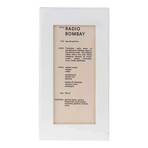 Radio Bombay by D.S. & Durga Eau De Parfum Spray (Unisex) 3.4 oz / 100 ml (Women)