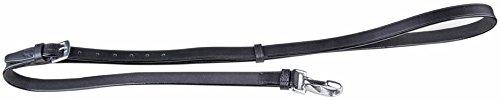 HKM 10309100 Ausbinder aus Leder, L, schwarz