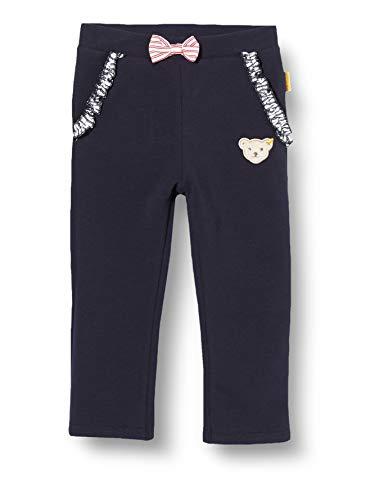 Steiff Jogginghose Pantalon De Sport, Bleu (Black Iris 3032), 62 (Taille Fabricant: 062) Bébé Fille