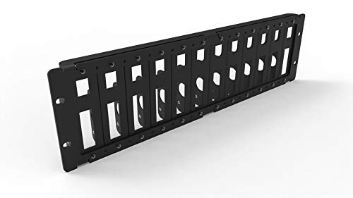 MyElectronics Raspberry Pi Rack Mount 19 inch 3U to Mount 12 Units All Models B (1-4)