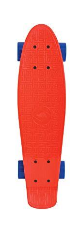 Schildkröt Unisex Jugend Pennyboard, Retro Skateboard Native, Red, 510702, Einheitsgröße