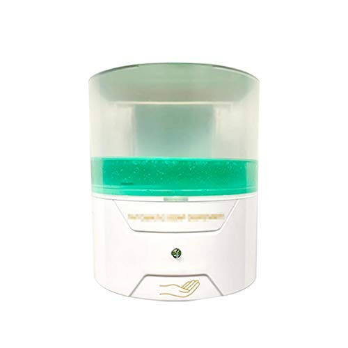 FXJ Dispensador de jabón automático Sensación sin Contacto Inducción infrarroja de Infrarrojos Líquido Inteligente Lavado de Mano Bomba de Lavado 13.5oz (Color : White, tamaño : 13.5oz)