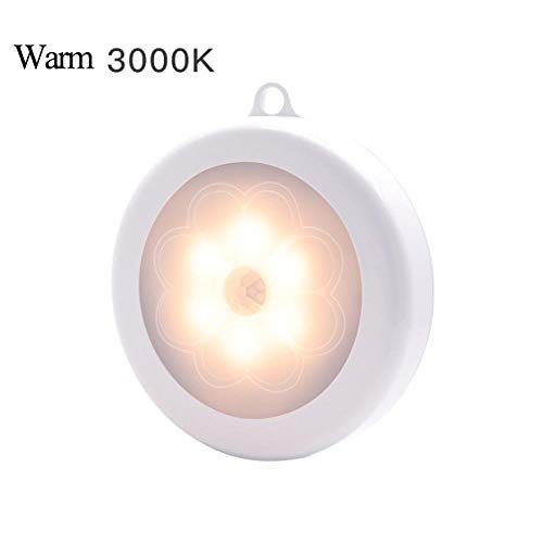 Veilleuse Smart Body Wireless Wireless Sensor Night Light Pir Magnetic Infrared Motion Emergency LED Bulbs for Wall Lamp Cabinet Stairs Kitchen Warmwhite