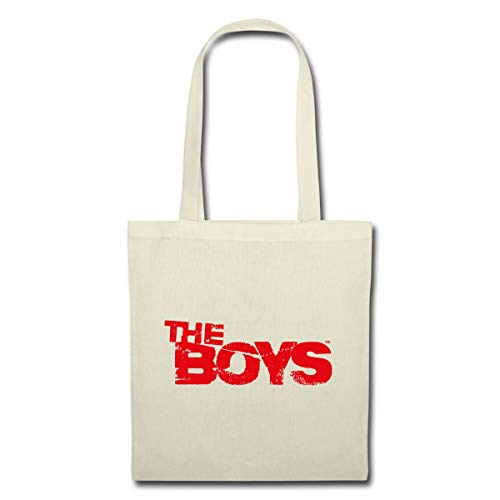 Spreadshirt The Boys Logo Vintage Red Tote Bag, nature