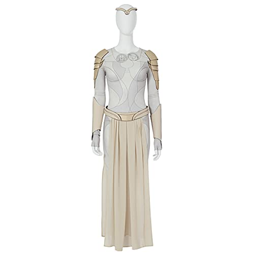 Rubyonly Thena Costume d'Halloween pour femme Blanc Taille XL