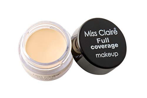 Miss Claire Full Coverage Makeup + Concealer #2, Beige, 6...