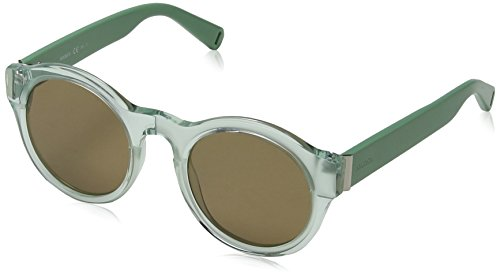 Max Mara MM Tile HA 581 55 Gafas de sol, Negro (Havana Blck/Bw Brown), Mujer