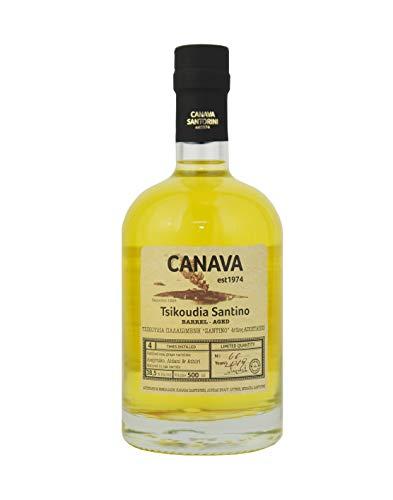 Tsikoudia Aged Canava Santorini (0,5l)