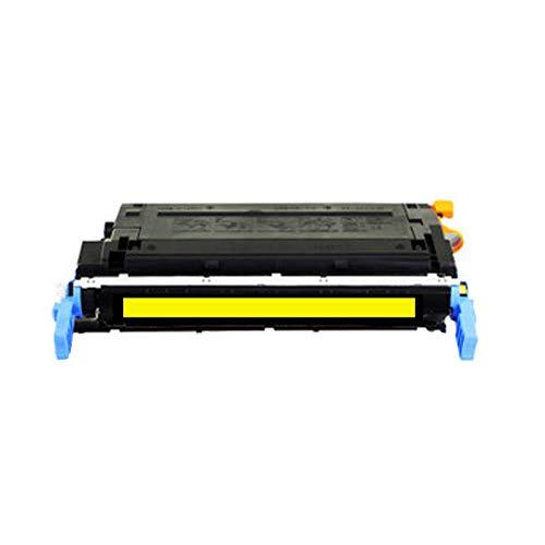 Cartucho de tóner compatible para HP Cb400a para impresora HP Color Laserjet Pro 5500 5550 con chip de impresora, suministros de oficina, impresión Hd amarillo
