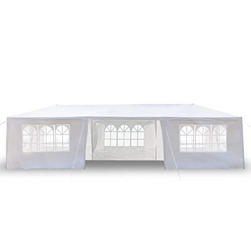 YQS Zelt für Party 3x9m Acht Seiten Zwei Türen wasserdichte Zelt mit Spiralschläuche Garten Gazebo Canopy Tragbare Upgrade-Außen (Color : 7 Sides)