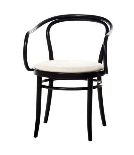 August Thonet B9 Bentwood Chair (Black Color)