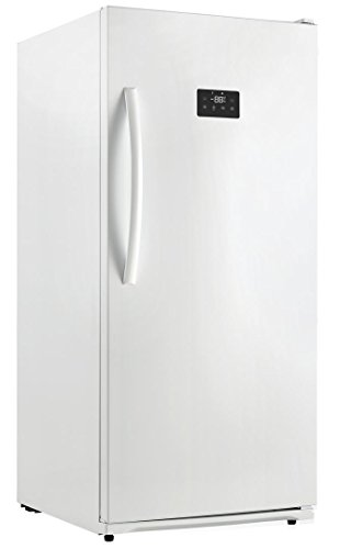 """Danby DUF138E1WDD 28"""" Energy Star Rated Danby Designer Upright Freezer With 13.8 cu. ft. Capacity Frost Free Quick Freeze Function Digital Thermostat And Door Shelves:"""