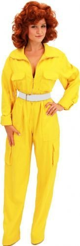 TV teenage mutant ninja turtles store avril o'neil de combinaison pour femme jaune - Jaune - Medium