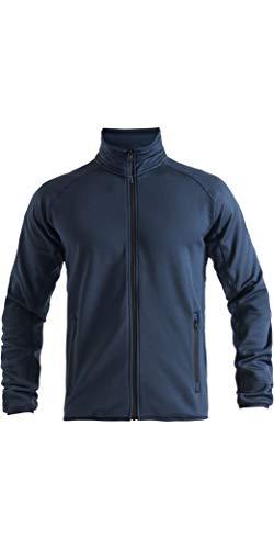 Henri Lloyd Herren Maverick Mid Warm Fleece Coat Jacke - Navy - Thermal Warm Heat Layer - Eingrifftaschen mit Reißverschluss