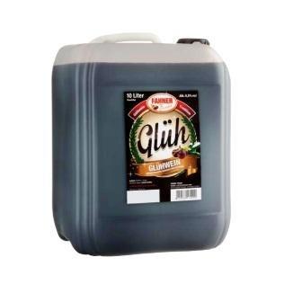 Fahner Glühwein 10 Liter Bag in Box 10% vol. verschiedene Sorten Geschmack Rote Trauben 10 Liter Kanister
