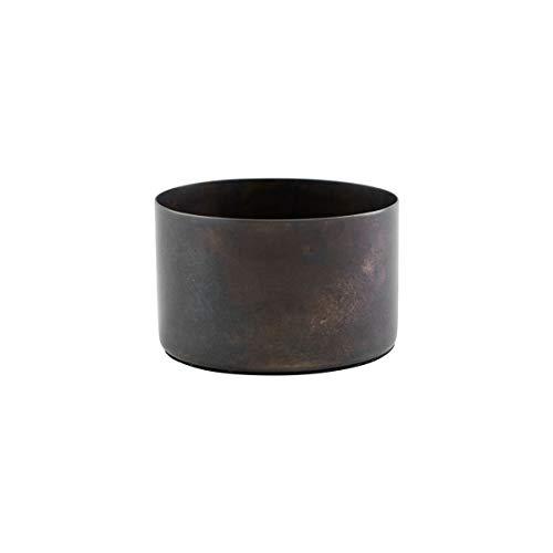 House Doctor We0210 kandelaar, Define, antiek bruin, h: 5 cm, dm: 8 cm, katoen, Dia