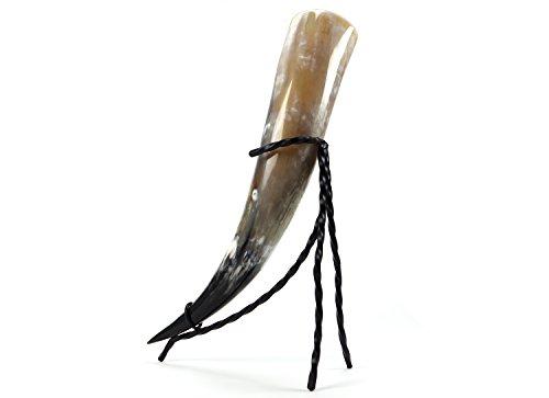 """""""Stargate""""Things for the new Generation Trinkhorn Set 1,0 Liter Horn mit Ständer Hornlänge 48-55cm"""